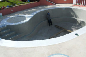 Pool repairs by Poolfix
